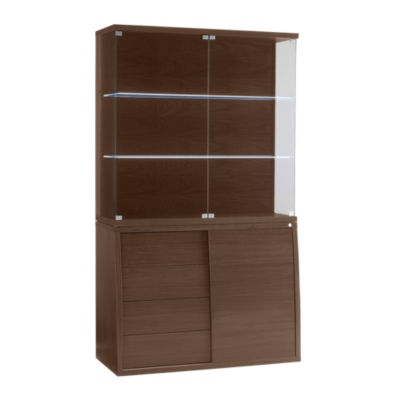 SKSM752_SM762-QS-WALNUT: Customized Item of Buffet SM 752 and Hutch SM 762 by Skovby (SKSM752_SM762)