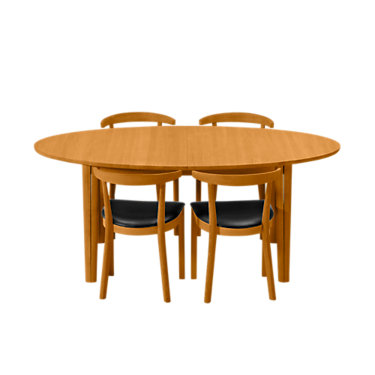 SKSM78-WENGE-N: Customized Item of Dining Table SM 78 by Skovby (SKSM78)