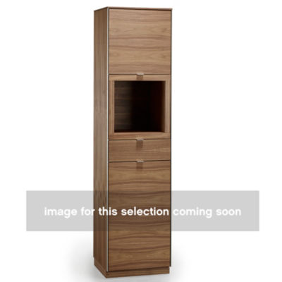 SKSM914-WALNUT_LACQUER: Customized Item of Display Cabinet SM 914 by Skovby (SKSM914)
