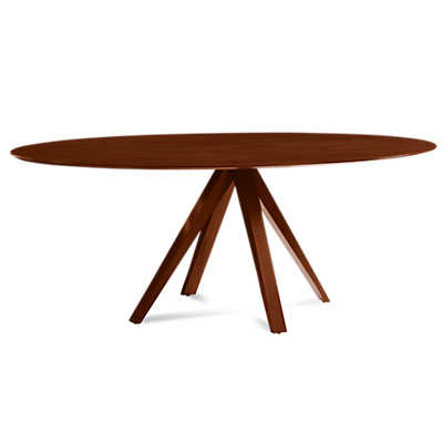 Picture of Nova Ellipse Maple Dining Table by Saloom