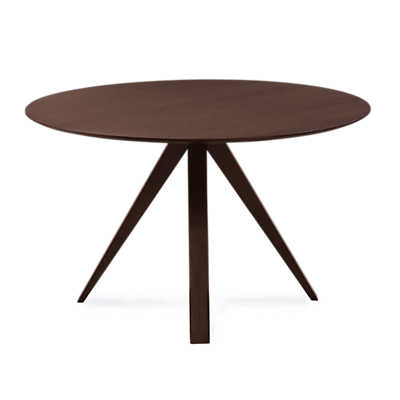 Picture of Nova Round Maple Dining Table by Saloom