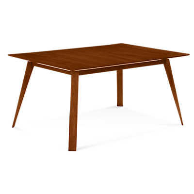 Picture of Spectra Rectangular Maple Dining Table by Saloom