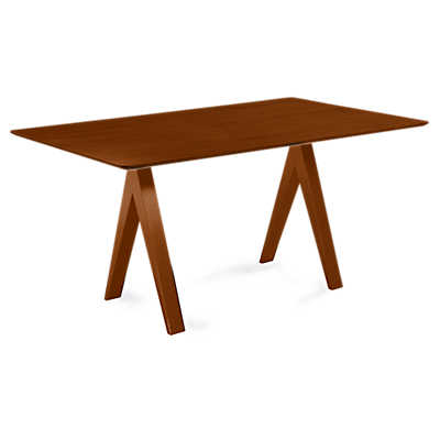 Picture of Soma Rectangular Maple Dining Table by Saloom