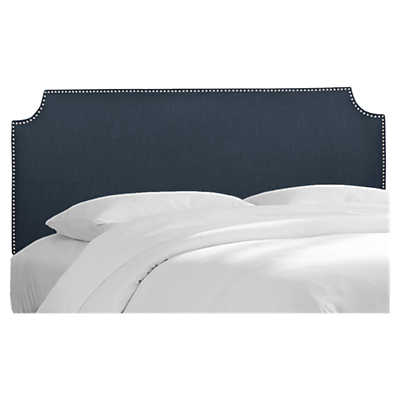 Picture of Madison King Nail Button Headboard by Skyline