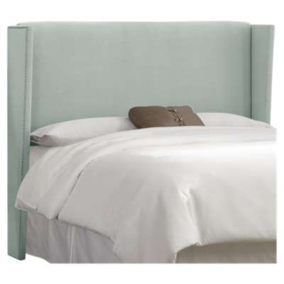 Picture for Queen Nail Button Wingback Headboard by Skyline