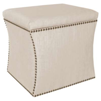 Picture for Nail Button Storage Ottoman by Skyline