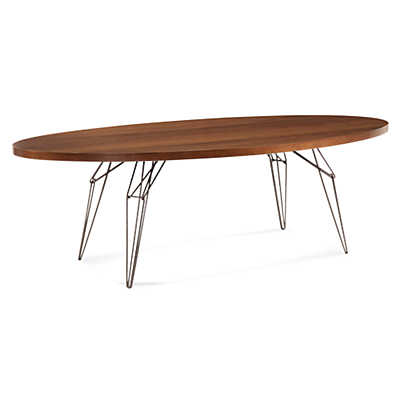 Picture of LEM Ellipse Dining Table in Maple by Saloom