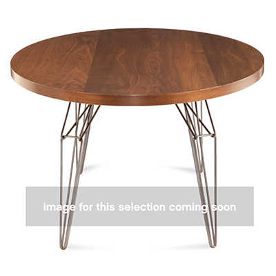 LEM Ellipse Dining Table In Black Walnut Smart Furniture
