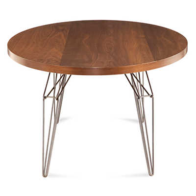 Picture of LEM Ellipse Dining Table in Black Walnut by Saloom
