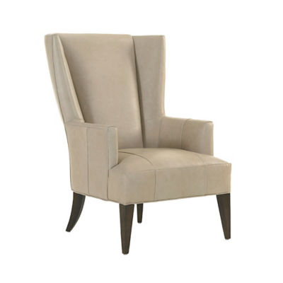 Picture of MacArthur Park Brockton Leather Wing Chair by Lexington