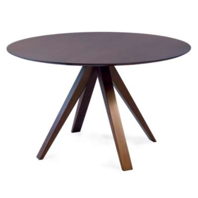 Picture for Nova Round Maple Dining Table with Strata Top Treatment  by Saloom