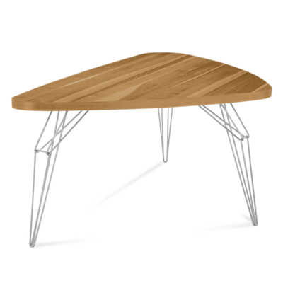 Picture of LEM Triangular Dining Table by Saloom