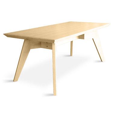 SPDT001-OAK: Customized Item of Span Dining Table by Gus Modern (SPDT001)