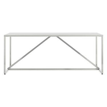 SR175TBBPK-WHITE: Customized Item of Strut Large Table by Blu Dot (SR175TBBPK)