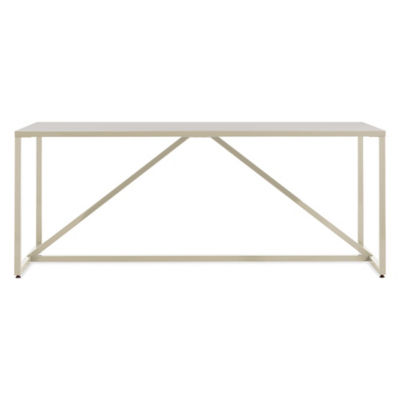 SR175TBBPK-IVORY: Customized Item of Strut Large Table by Blu Dot (SR175TBBPK)