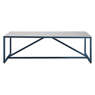 Picture of Strut Square Table by Blu Dot