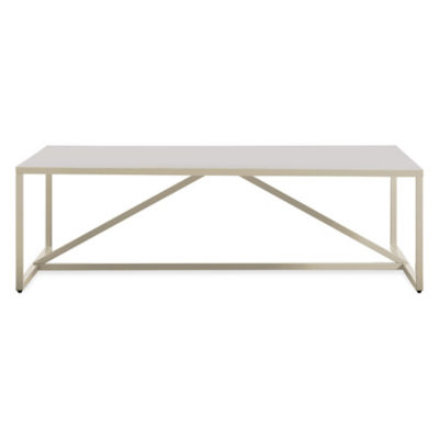 SR1SQRTBL-IVORY: Customized Item of Strut Square Table by Blu Dot (SR1SQRTBL)