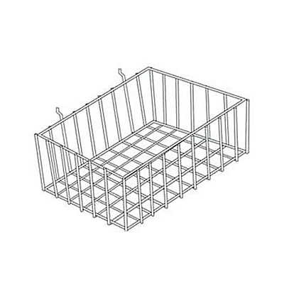Picture of Wire Basket for Slatwall & Pegboard by Smart Fixtures