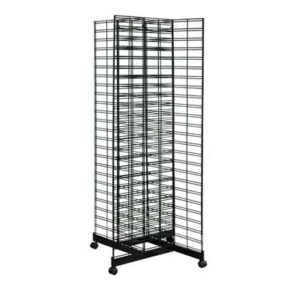 Picture for 4-Way Slat Grid Tower With Base & Casters by Smart Fixtures