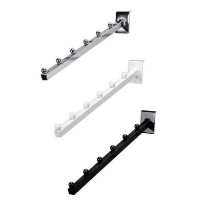 Picture of 6-Ball Waterfall Square Tube for Slatwalls by Smart Fixtures