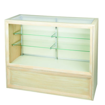 Picture of Antique White Full Vision Display Case by Smart Fixtures