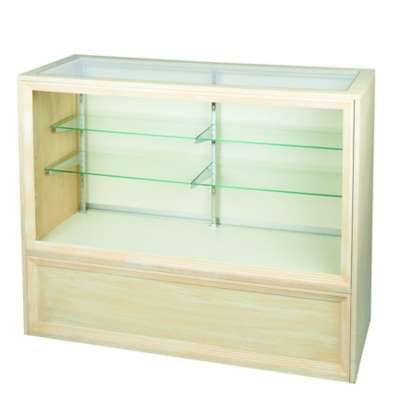 Picture for Antique White Full Vision Display Case by Smart Fixtures