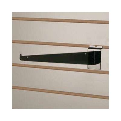 Picture for Black Shelf Bracket for Slatwalls by Smart Fixtures