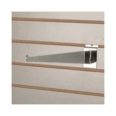 Picture for Chrome Shelf Bracket for Slatwall by Smart Fixtures