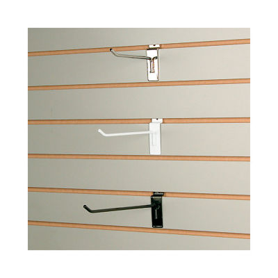 Picture of Black Slatwall Hook by Smart Fixtures