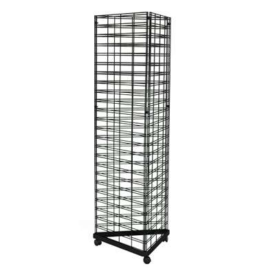 Picture for Triangle Slat Grid Tower with Base & Casters by Smart Fixtures
