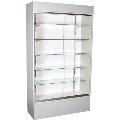 Picture of 4' Wall Unit Display Case, Fully Assembled by Smart Fixtures