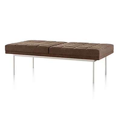 Picture of Geiger Tuxedo Bench by Herman Miller