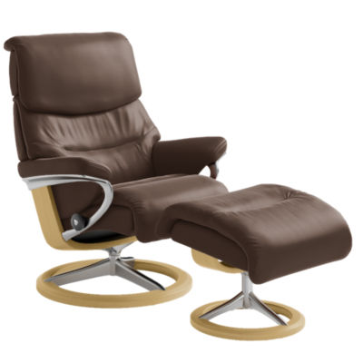 Picture of Stressless Capri Chair Large with Signature Base by Ekornes