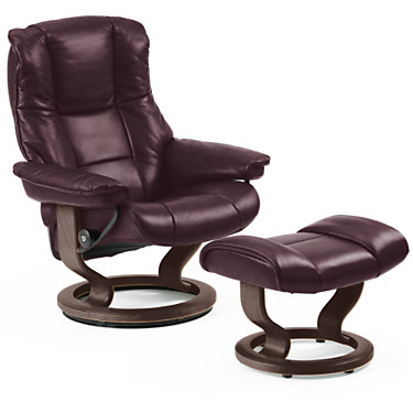 STCHELSEA-SP-03-CORI MOLE: Customized Item of Stressless Mayfair Chair Small with Classic Base by Ekornes (STCHELSEA)