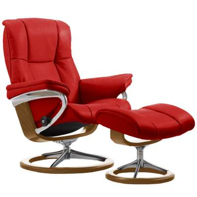 Picture for Stressless Mayfair Chair Small with Signature Base by Ekornes