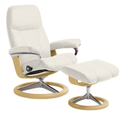 Picture of Stressless Consul Chair Medium with Signature Base by Ekornes