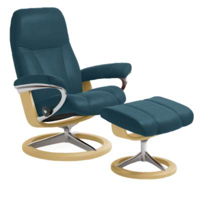 Picture for Stressless Consul Chair Medium with Signature Base by Ekornes