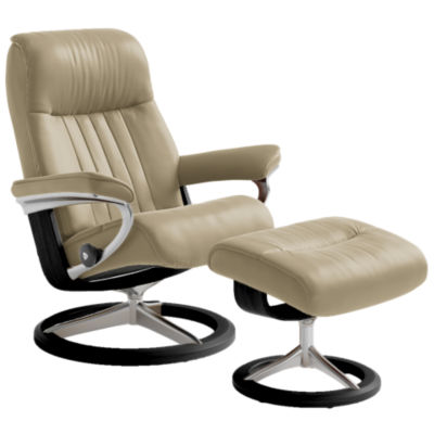 Stressless Crown Chair Lg W Signature Base Ekornes Smart