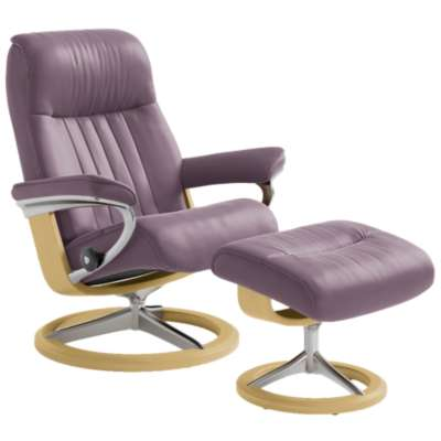 Picture for Stressless Crown Chair Large with Signature Base by Ekornes