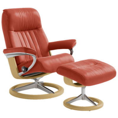 Picture of Stressless Crown Chair Medium with Signature Base by Ekornes