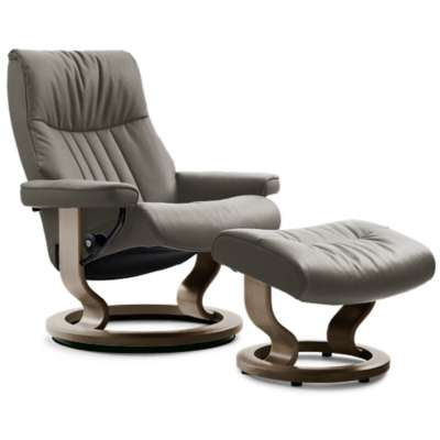 Picture for Stressless Crown Chair Small with Classic Base by Ekornes