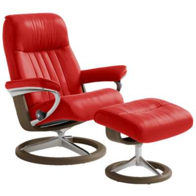 Picture for Stressless Crown Chair Small with Signature Base by Ekornes