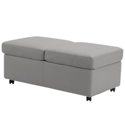 STDBLOTTOMN-GREY-PALOMA METAL GREY: Customized Item of Stressless Double Ottoman by Ekornes (STDBLOTTOMN)