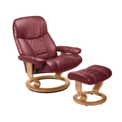 Picture of Stressless Consul Chair Small with Classic Base by Ekornes