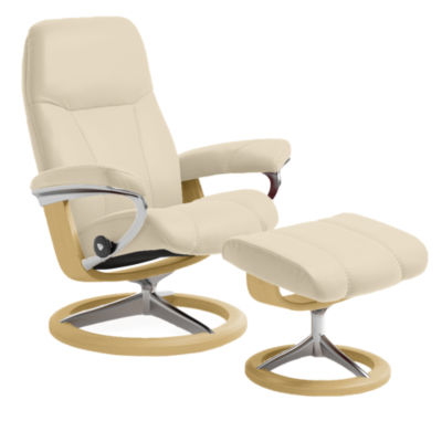 Picture of Stressless Consul Chair Small with Signature Base by Ekornes