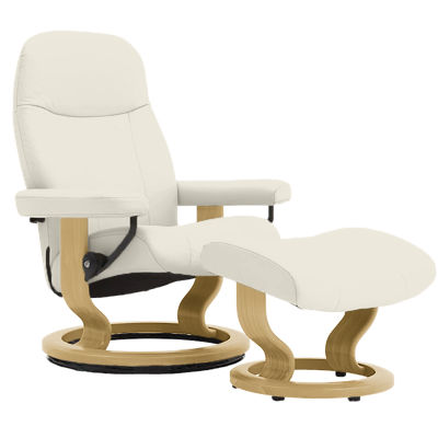 Picture of Stressless Garda Chair Medium with Classic Base by Ekornes