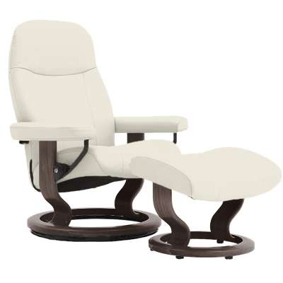 Picture for Stressless Garda Chair Medium with Classic Base by Ekornes