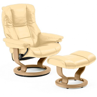Picture Of Stressless Mayfair Chair Large With Clic Base By Ekornes