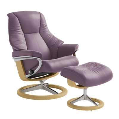 Picture for Stressless Live Chair Large with Signature Base by Ekornes