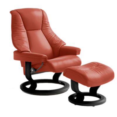 Picture of Stressless Live Chair Medium with Classic Base by Ekornes